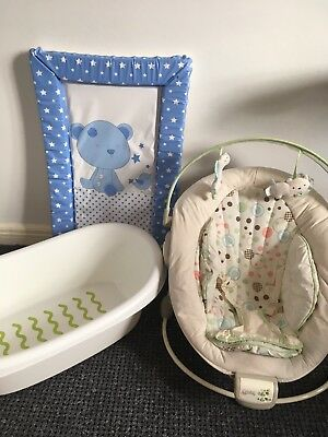 Baby Bath, Changing Mat, Baby Bouncer