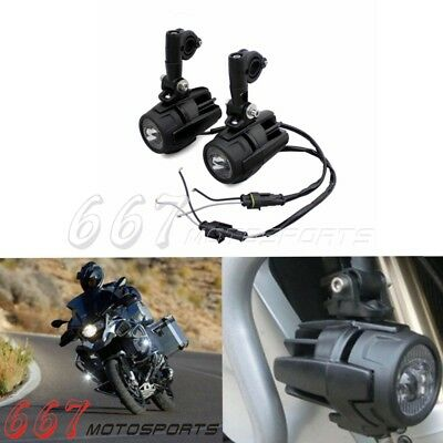 2x LED Fog Light Cree Auxiliary Driving Passing Lamp for BMW R1200GS ADV F800GS