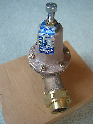 Water Pressure Reducing Reducer Relief Valve Plumbing Regulator 3/4 inch