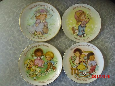 "Avon Mother's Day 5"" Plates"