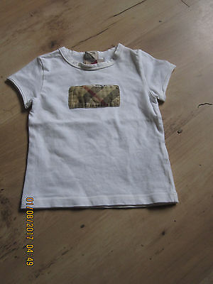 Burberry Baby tee shirt age 9 months
