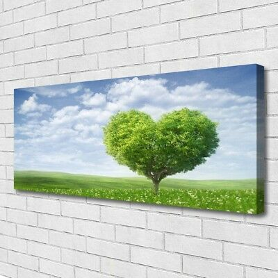 Canvas print Wall art on 125x50 Image Picture Tree Nature