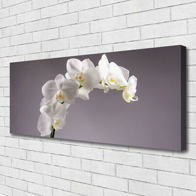 Canvas print Wall art on 125x50 Image Picture Flowers Floral