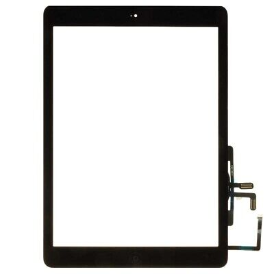 Digitizer with Home Button for Apple iPad Air Black Front Glass Touch Screen