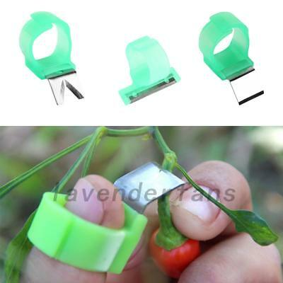 3Set V Shape Vegetable Fruit Picker Garden Picking Ring Harvesting Cut Tools