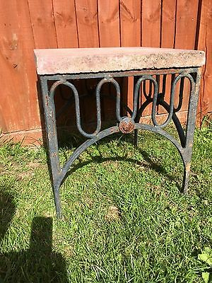 Small Vintage Wrought Iron outdoor  table