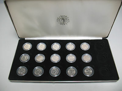 Complete Set of 15 Susan B Anthony Dollars from Morgan Mint