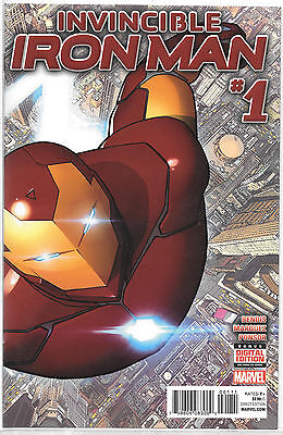 Marvel Invincible Iron Man #1
