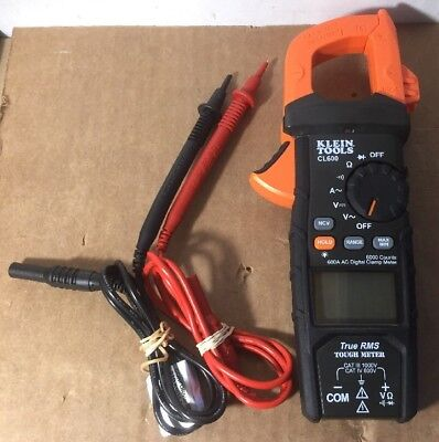 Klein Tools CL600 True RMS Auto-Ranging Digital Clamp Meter