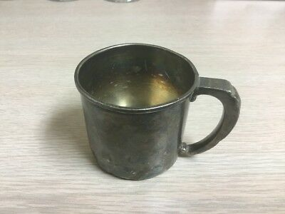 Vintage STERLING SILVER BABY CUP by FRANK M. WHITING & CO. PATTERN # 507
