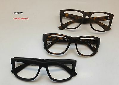 LOT OF 3 RAY-BAN SUNGLASSES FRAMES ONLY!!! Men Square ITALY Eyeglasses RG42A/22