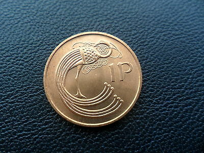Ireland Coins Irish 1 Pence Coins 1971 UNC From Roll