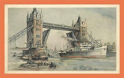 a579 / 021  LONDON The Tower Bridge ( Raphael Tuck )