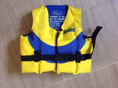 Floaties Swimming Aid Vest Age 2/4 Years Weight 20 Kg Max Vgc