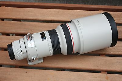 Canon EF 300mm f2.8 L Ultrasonic prime lens, Oct 1997 Japan manufacture, vgc