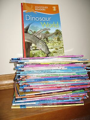 lot: 40 level 3 READERS (Step into Reading, All Aboard Reading, I Can Read, etc)