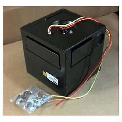 "Compact Low Profile Auxiliary Cab Cabin Heater 8""x8""x8"" 12v 12000 BTU Output"