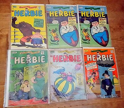 Herbie Popnecker Collection 1964/1966 17 Issues