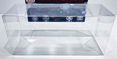 1 Box Protector For FUNKO POP! 4 PACKS   READ!  Clear Custom Made Display Case