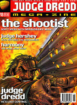 Judge Dredd Megazine #18 Volume 3 , Jun 1996 , 2000AD , Fleetway , VERY FINE