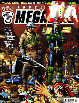 Judge Dredd Megazine #220 Volume 4 , Jun 2004 , 2000AD , Fleetway , VERY FINE