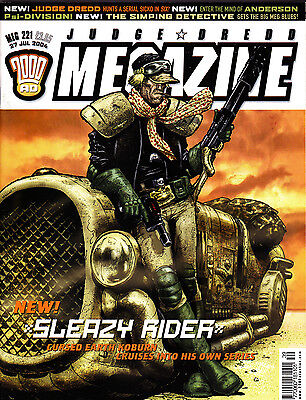 Judge Dredd Megazine #221 Volume 4 , Jul 2004 , 2000AD , Fleetway , VERY FINE