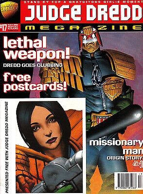 Judge Dredd Megazine #17 Volume 3 , May 1996 , 2000AD , Fleetway , VERY FINE