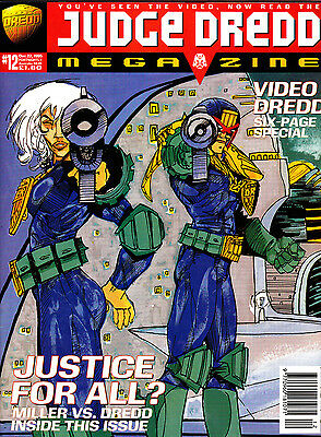 Judge Dredd Megazine #12 Volume 3 , Dec 1995 , 2000AD , Fleetway , VERY FINE
