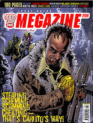 Judge Dredd Megazine #208 Volume 4 , Jul 2003 , 2000AD , Fleetway , VERY FINE