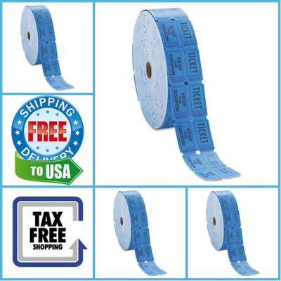 Blue Generations Consecutively Raffle Tickets Roll Of 2000 Double Tickets 1 Roll