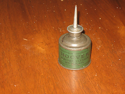 Nice Antique Hoover Electric Cleaner Motor Oil Squirt Can, Vintage Lube Tool