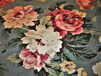 VINTAGE 1930s -1940s BARK CLOTH ERA FABRIC**3 PANELS SEWN TOGETHER*60x88 inches