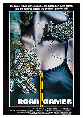 Road Games (1981) - A2 A3 A4 POSTER ***LATEST BUY 1 GET 1 FREE OFFER***