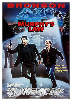 Murphy's Law (1986) - A2 A3 A4 POSTER ***LATEST BUY 1 GET 1 FREE OFFER***