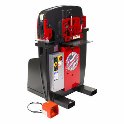 Edwards 575V 3PH 50T Ironworker w/ Hyd. Pack IW50-3P575-AC500 New