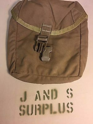Lot of 2 USMC IFAK Individual First Aid Kit MOLLE Pouch Coyote Brown Good USGI
