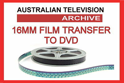 16mm Film to DVD Transfer Service (up to 1200ft  Reel)