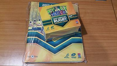 2017 Rugby Trading Cards - Factory Sealed Box + Official Album & sleeves