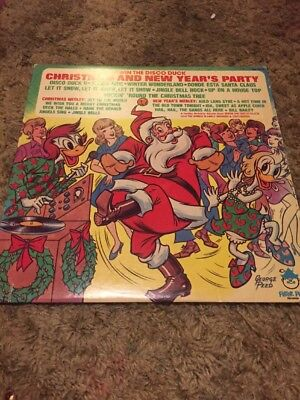 Irwin The Disco Duck Christmas And New Years Eve Party Lp
