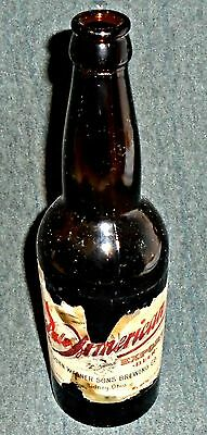 RARE 1905 Wagners Pale American Export Beer, Wagner Brewery, Sidney Ohio