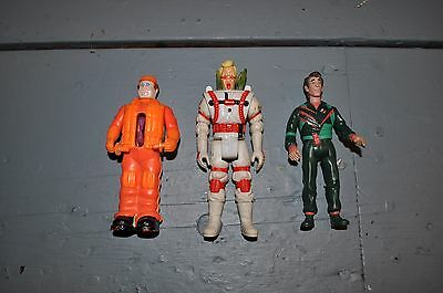 Vintage Lot Of (3) Ghostbusters Figures