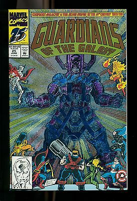 Movie June 1990  Marvel Guardians of the Galaxy Comic Book #25 NM