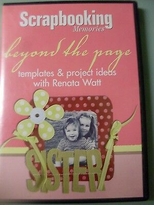 Scrapbooking Memories - Beyond the Pages templates CD  plus extras