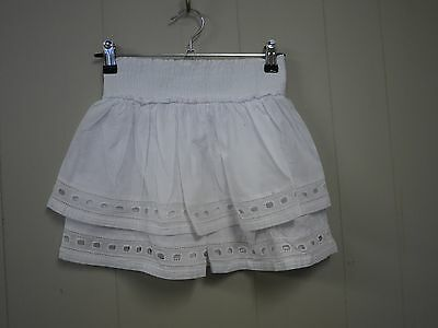 COUNTRY ROAD Girls White Recent Season Skirt Sz 8 in EUC