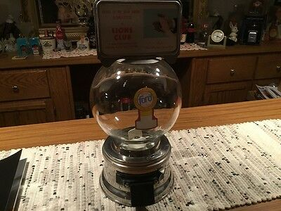 Ford Glass Globe  Gumball vending Machine
