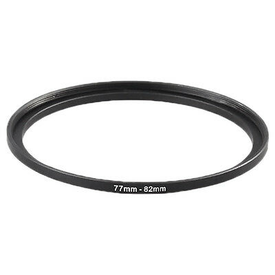 Metal 77mm-82mm 77 to 82 Step Up Camera Lens Filter Ring Stepping Adapter new