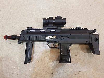 Electric Power With Light And Sound AK828 MP7A1 Toy Plastic Gun