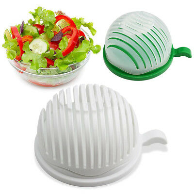 60 Second Salad Maker DIY Cutter Bowl Healthy Fresh Salads Made Easy Tool Slicer
