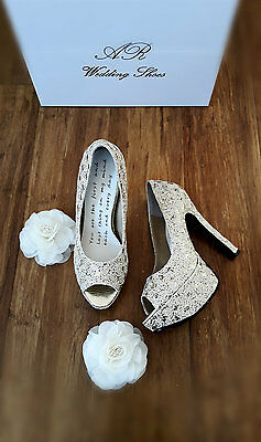 Special Wedding Shoes Size 7.5