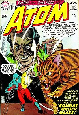 ATOM ISSUE 21 1st SERIES AMERICAN COMIC BY DC + FREE & FOIL BALLOON